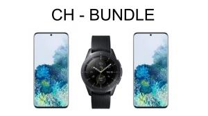CH - Bundle : 2x SM-G981 Blue & 1x SM-R810 Black