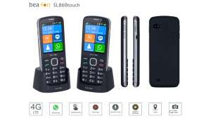 Beafon SL860 4G Touch Handy Black